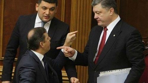 Олег Ляшко публично отпарафинил Петра Порошенко